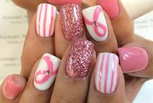 Breast Cancer Awareness nails inspiration