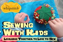 Sew: Teaching Children to Sew / One day, I'll teach my girls to sew