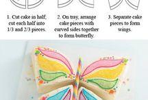 kake-inspirasjon - og bursdags ideer