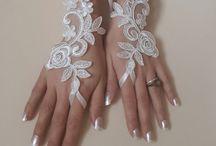 guantes boda