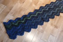 Crocheting - Scarves, Hats and Gloves / Crochet patterns for various scarves and hats