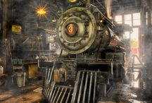 steampunk Locomotive