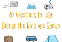 Destination Lists / Fun lists of amazing places to vacation or visit
