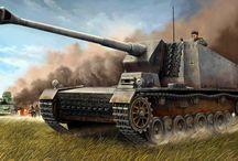 WW2 - STURER EMIL / 12.8 cm Selbstfahrlafette auf VK 3001(H) (Panzerselbstfahrlafette V)Sturer Emil− samobieżne działo przeciwpancerne zbudowane na podwoziu eksperymentalnego czołguHenschelaVK 3001 (H)uzbrojone w działoRheinmetall12.8 cm K 40 L/61 (które z kolei było rozwinięciem12.8 cm FlaK 40).