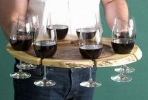 bandeja de vinho