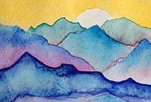 Water colour ideas