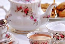 "Tea Time / My older aunts and uncles used to say ""Let's take tea"". / by Jackie Evans"
