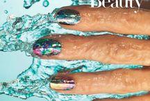 Holographic nails / Nail design