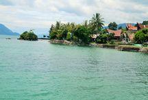 Lake Toba / world's largest volcanic crater lake - in Beautiful North Sumatra