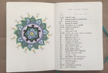 Bitácora con topos (Bullet journal) / Un diario, registro, bitácora ...