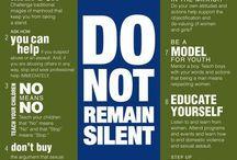 Violence Prevention & Response / Domestic Violence, Dating Violence, Stalking, etc