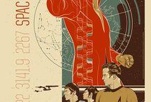 cool poster art / by Terri Pendleton