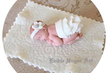 Baby shower tårtor