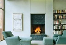 Inspiration. fireplace
