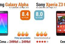 Gorące pojedynki smartfonów / Pojedynki najciekawszych smartfonów ma rynku - wyniki benchmarków, parametry, bateria, różnice