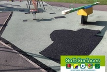 Rubber Wetpour Safety Surfacing Repair