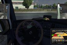 Euro Truck Simulator 2 - Navigation / Néhány képernyőmentés az ETS2 navigációs képességeiről (by Zsolto): http://navigyurci.hu/2014/01/05/ujevi-exkluziv-ets-2-navigacio-teszt/