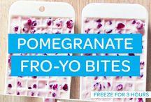 Receptes amb magrana - pomegranade recipes