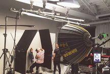 Studio's lighting