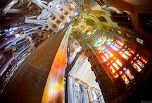 Sagrada Familia / Esta iglesia es un obra de arte de Gaudí, el arte del canto se funde con la arquitectura. / by COREARTE International Choir Festival