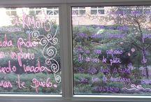 Amor en las ventanas / Los sentimientos en cristal