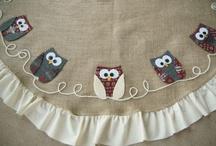 owl tree skirt