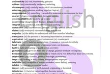 IELTS Vocabulary / Different ways to expand vocabulary for the purposes of IELTS writing.