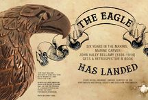 The Eagle Has Landed / Six Years In The Making, Marine Carver John Haley Bellamy (1836-1914) Gets A Retrospective & Book  #Woodworking #Americana #Antiques #folkart #Portsmouth