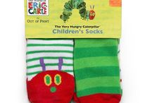 Toddler Socks / Very Hungry Caterpillar toddler 2T-3T socks