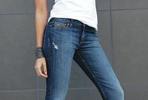 Womens Jeans / Tears of Bleu' June straight leg mid rise Jean. Comfortable slim fit, straight leg jean.