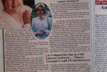 Princess Diana at Christmas / Celebrity and Royalty