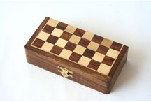 Hand Crafted Wooden Chess Set