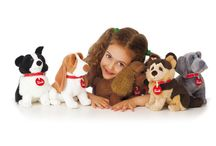 Pets Love Trudi / A collection of baby animals, designed with particular attention to the faithful reproduction of every detail of their position, shape and proportions, naturally not forgetting their facial expressions. Each puppy comes with an idendity card, produced in collaboration with the Italian Junior Kennel Club, with the aim of promoting awareness and love of animals.