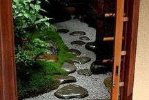 Zen space / Gardening ideas for meditation space