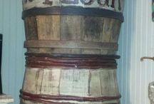 OLD WOOD BARRELS