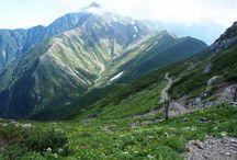 赤石岳(南アルプス)登山 / 赤石岳の絶景ポイント 南アルプス登山ルートガイド。Japan Alps mountain climbing route guide