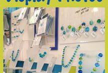 Craft display ideas / Creative ways to display your handmade items and crafts