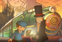 Professor Layton  / by Laura Williamson