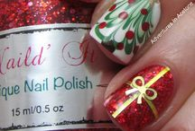 Christmas/Holiday nails! / by Susy H