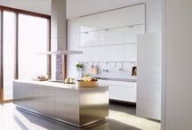 Sleek and Hygenic Kitchens / Who likes clean and cool kitchens? We do!