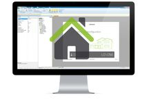 Smart house / House automation / Hardware and software for homes and small houses.