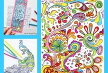 Colouring Fun / Free printable adult colouring pages