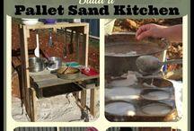 DIY: Mud Kitchen