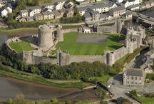 Замок Пембрук, Уэльс (Pembroke Castle, Wales)