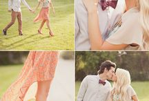 Inspiration •Engagement Outfits / Ideas for what to wear for your photos.