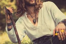 Long Hair Hotties / Because I just love a man with long hair!