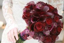 Inspire you {Red flowers} / Red wedding flowers