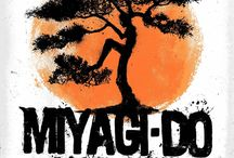 Sensei Miyagi & The Karate Kid / Sensei Miyagi and the Karate Kid from the movies Karate Kid 1, 2 & 3
