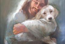 Jesus y el perro