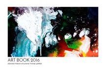 Art Books / Art Books with my abstract paintings